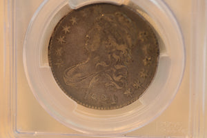 1824 PCGS VF30 Half Dollar Over Various Date