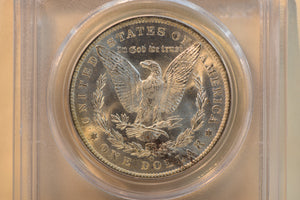1884-O PCGS MS63 Morgan Dollar Cert #24135036
