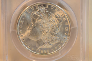 1885 PCGS MS63 Morgan Dollar Cert #26925923