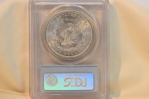 1886 PCGS MS63 Morgan Dollar Cert #14616859