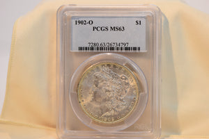 1902-O PCGS MS63 Morgan Dollar Cert #26734797