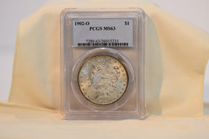 Beautiful 1902- O PCGS MS63 Cert #26015231