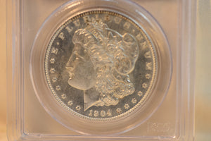 1904-O PCGS MS63 Morgan Dollar Cert #18089499