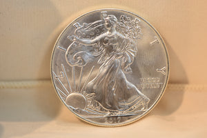 1 oz 2017 American Eagle Silver Coin
