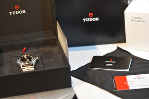 Tudor Heritage Ranger Stainless steel Automatic Black Dial Men's W