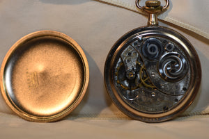Elgin Pocket Watch of Elgin, Illinois Elgin Grade 303 Pocket Watch Model 3 1950s