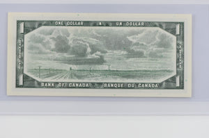 Bank of Canada 1954 $1 BCS Choice UNC 63 BC-37d Lawson-Bouey Modified Portrait