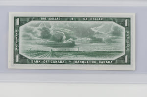 Bank of Canada 1954 $1 BCS Choice UNC 58 BC-37a Beattie - Coyne Modified Portrait