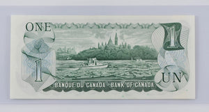 Bank of Canada 1973 $1 BCS Choice UNC 64 BC-46Aa Lawson-Bouey Replacement