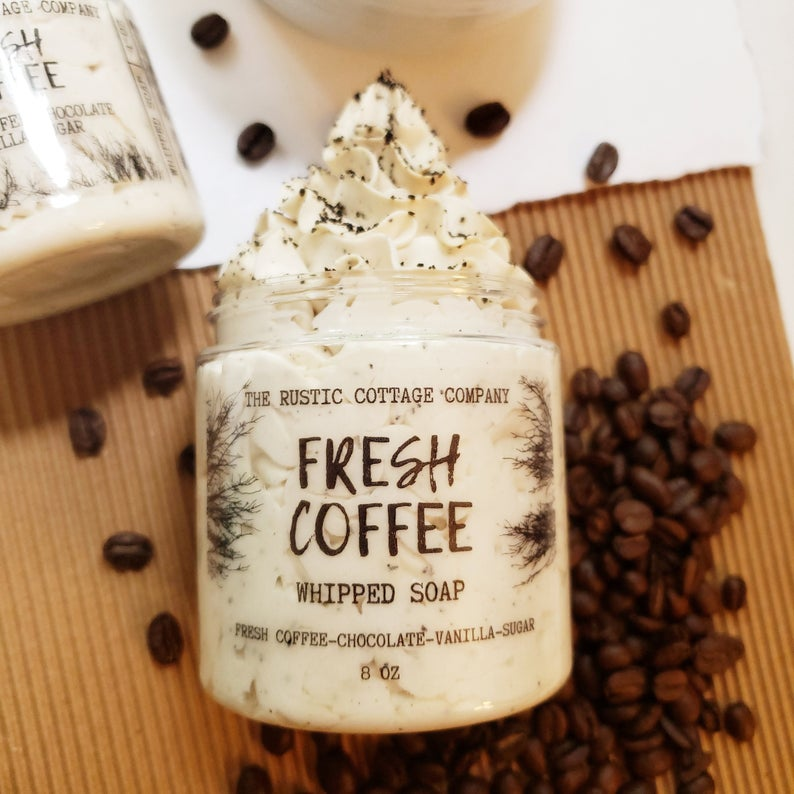 Fresh Coffee Whipped Soap | Fluffy Whipped Soap