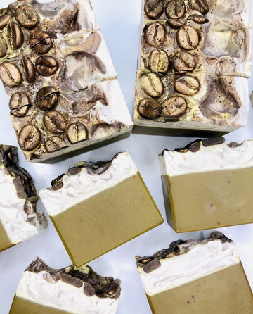 Roasted Coffee Artisan Soap Bar, Coffee Soap, Handcrafted Coffee Soap