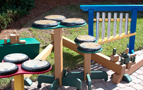 PlayMore Recycled Plastic - Musical Play Equipment
