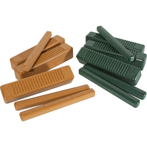 PlayMore Design Eco Guiro (Set of 6) - Green/Cedar