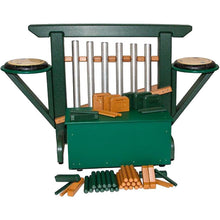 Load image into Gallery viewer, THRONE of GAMES (Chime Unit & Storage Bench) in Green/Cedar - 12 Models Available