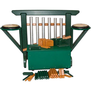 THRONE of GAMES (Chime Unit & Storage Bench) in Green/Cedar - 12 Models Available