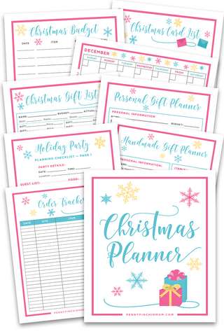 Christmas Planning Bundle (11 Pages)