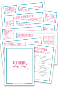 Master Cleaning Kit (15 Pages)