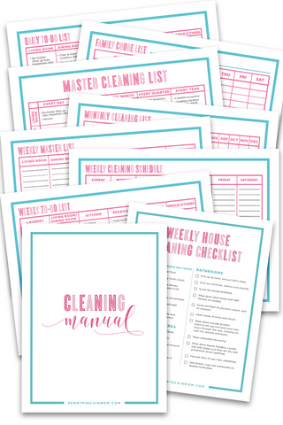 Cleaning Bundle (10 Pages)