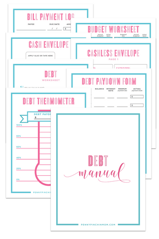 Debt Payoff Bundle (16 pages)