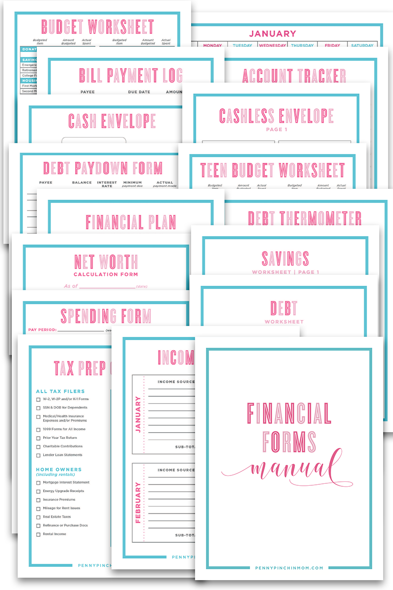Financial Documents Bundle