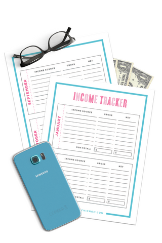 Income Tracker (6 Pages)