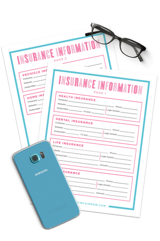 Insurance Information Form