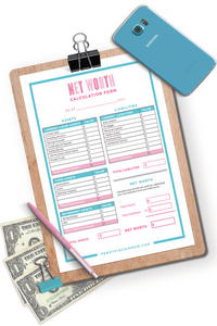Net Worth Calculation Worksheet