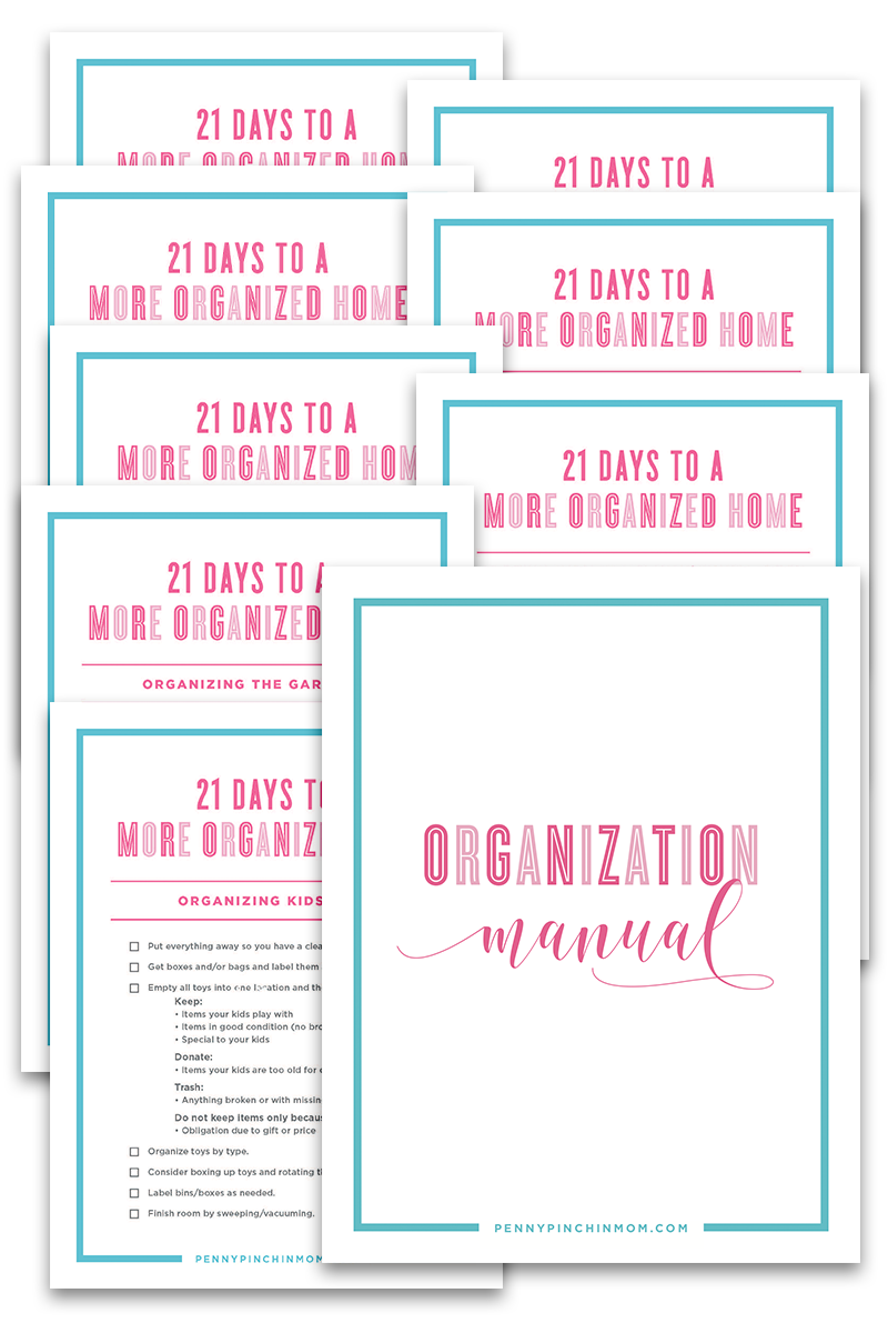 Organization Checklist Bundle (14 Pages)
