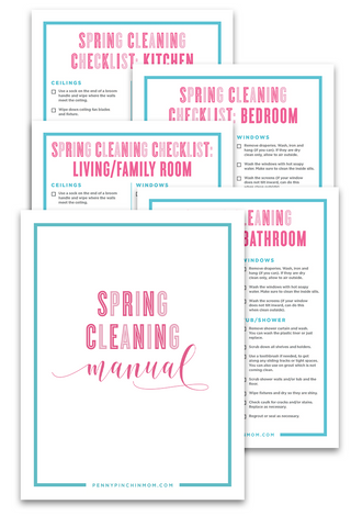 Spring Cleaning Kit (10 Pages)