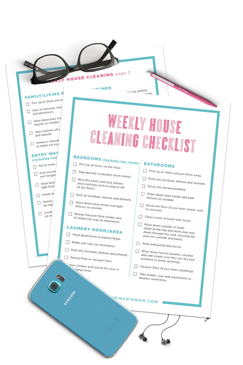 Weekly Cleaning Checklist
