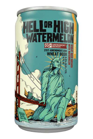 21st Amendment Hell Or High Watermelon - Portside Market & Spirits