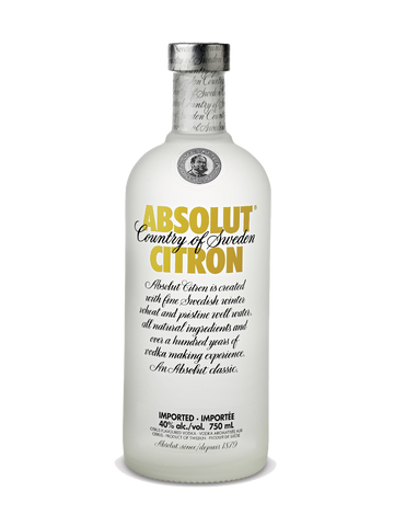 Absolut Citron - Portside Market & Spirits