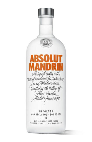 Absolut Mandrin Vodka - Portside Market & Spirits