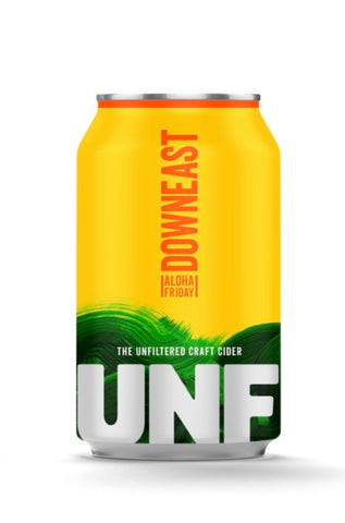 Downeast The Unfiltered Craft Cider - Aloha Friday - Portside Market & Spirits
