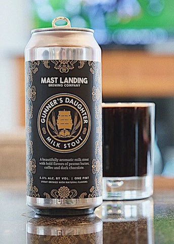 Mast Landing Gunner's Daughter Milk Stout - Portside Market & Spirits