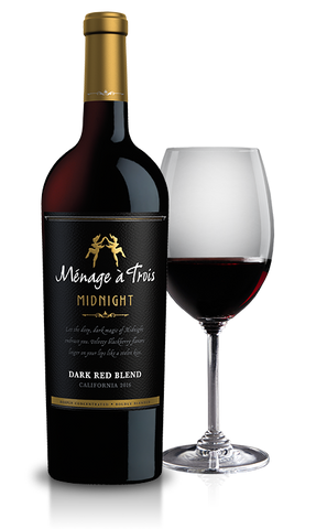 Menage A Trois Midnight Dark Red Blend - Portside Market & Spirits