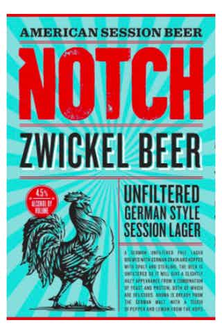 Notch Zwickel Beer - Portside Market & Spirits