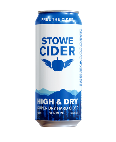 Stowe Cider Super Dry High & Dry - Portside Market & Spirits