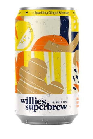 Willie's Superbrew Sparkling Ginger Lemon