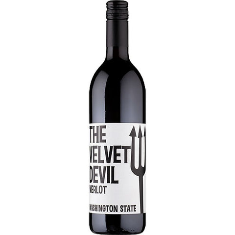 The Velvet Devil Merlot 750ml - Portside Market & Spirits