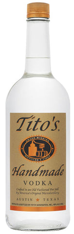 Tito's Handmade Vodka 750ml - Portside Market & Spirits