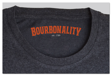 "Load image into Gallery viewer, ""What's Your Bourbonality?"" T-Shirt"
