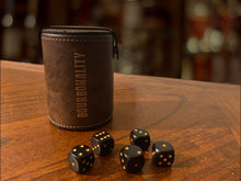 Load image into Gallery viewer, *NEW* Bourbonality™ Rustic Dice Cup Set