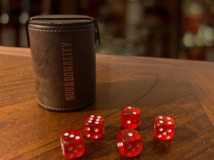 *NEW* Bourbonality™ Rustic Dice Cup Set
