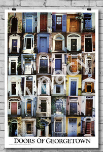 """Doors of Georgetown"" Poster"