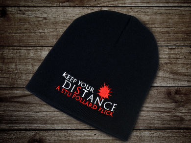 Keep Your Distance Knitted Cap