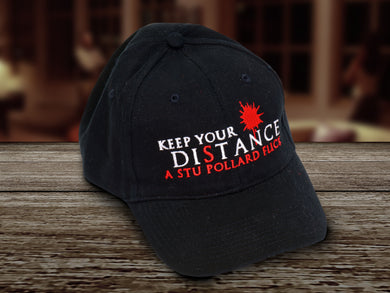 Keep Your Distance Baseball Cap (100% Proceeds to the Kentucky Film Crew Relief Fund)