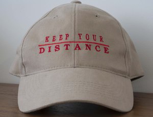 "Keep Your Distance ""Cast & Crew"" Baseball Cap (% of Proceeds to Trunacy)"