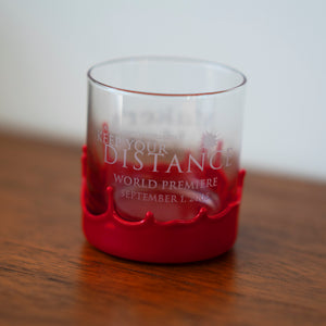 """Keep Your Distance"" Whisky Tumbler Glass"
