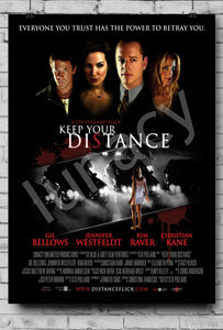 """Keep Your Distance"" Poster *EXCLUSIVE*"